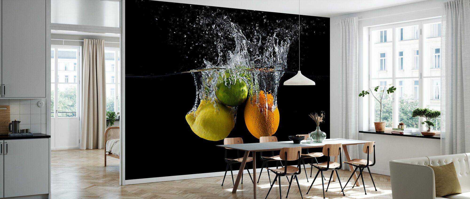 Citrus Splash - Tapete - Küchen