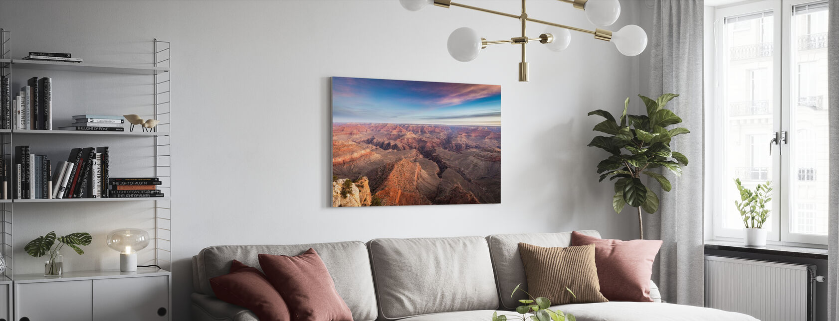 Grand Canyon National Park - Canvas print - Woonkamer