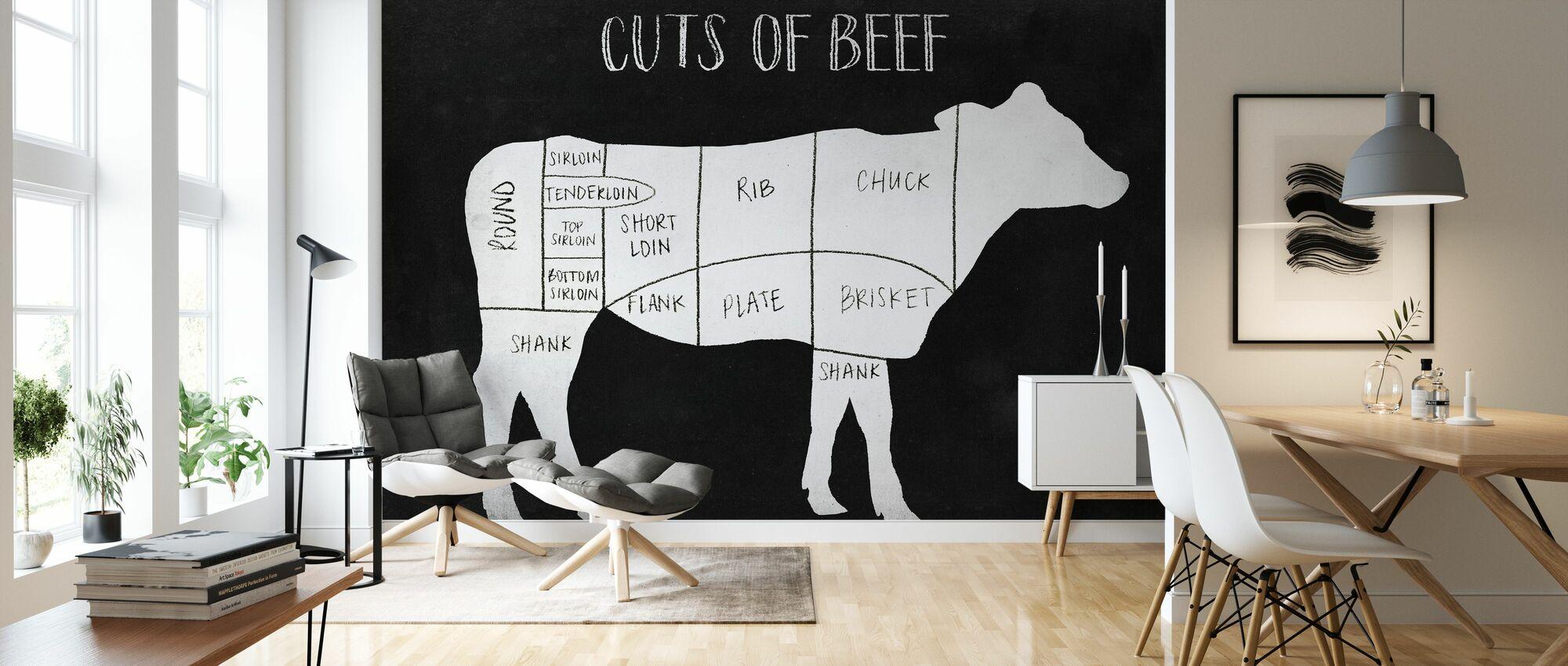 Farm to Table - Wallpaper - Living Room
