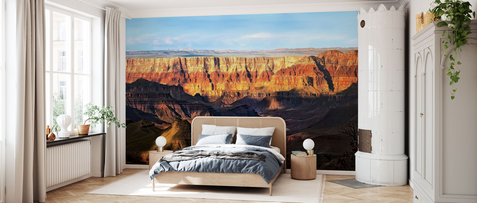 Canyon View - Wallpaper - Bedroom