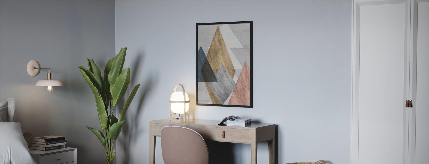Peaks - Poster - Schlafzimmer