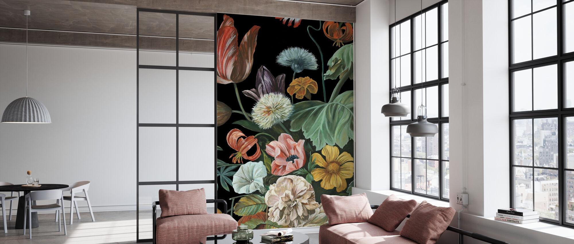 Floral Baroque - Papier peint - Bureau
