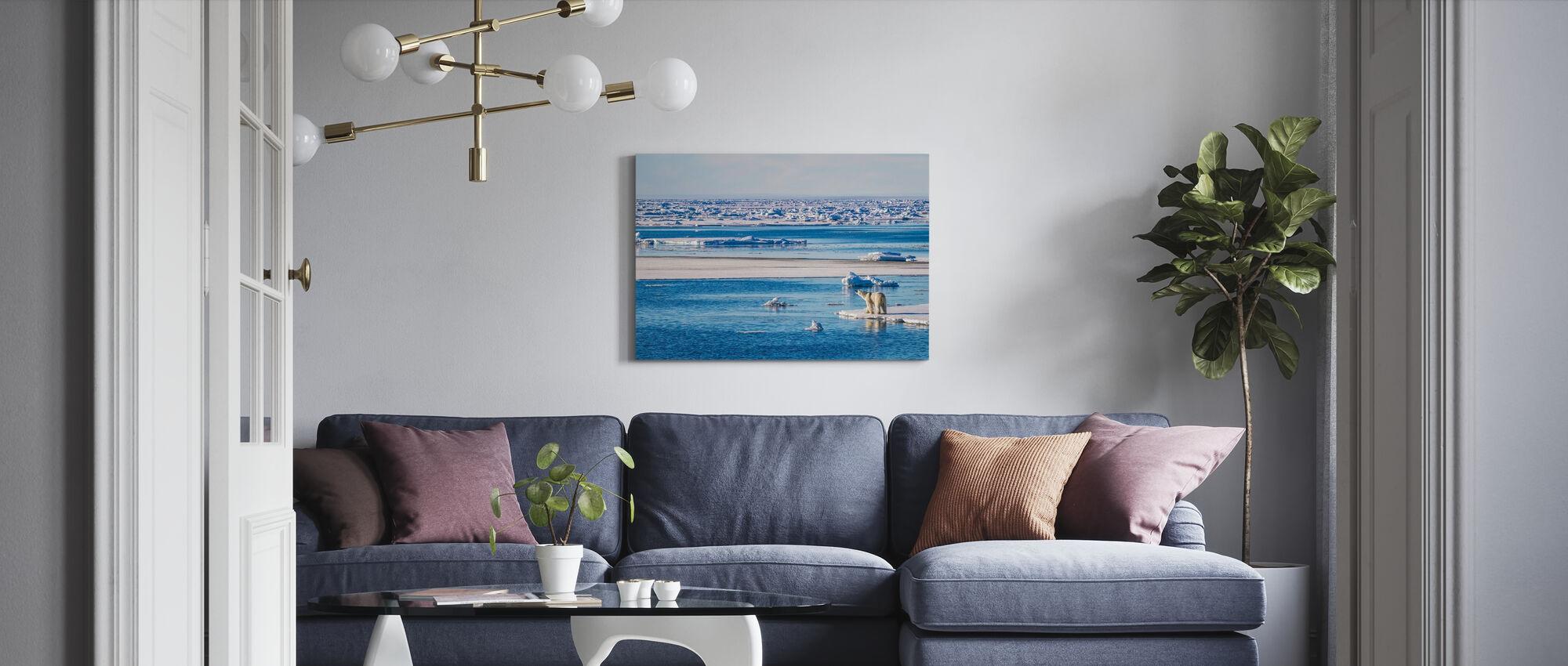 Uncertain Future - Canvas print - Living Room