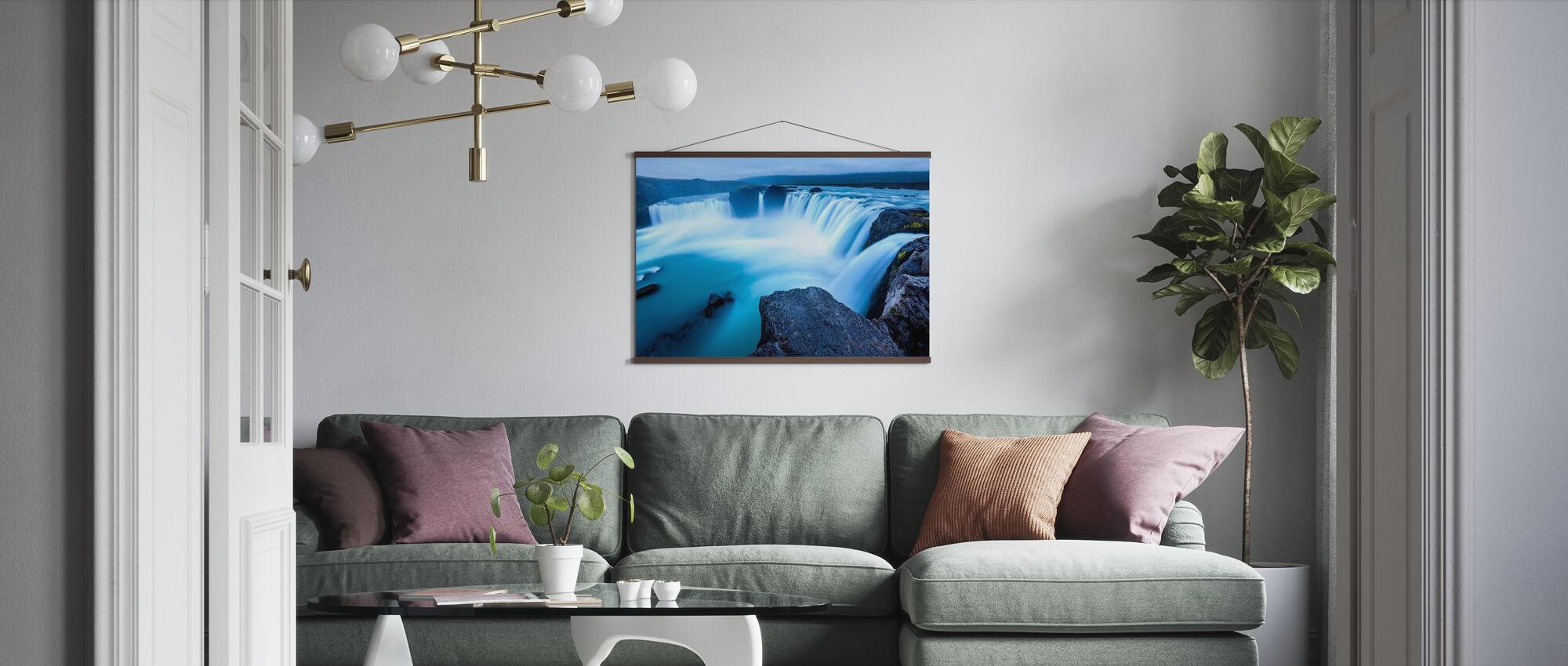 Midnight Falls - Poster - Living Room
