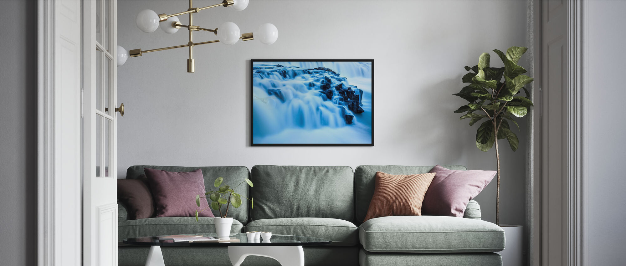 Midnight Falls II - Poster - Living Room