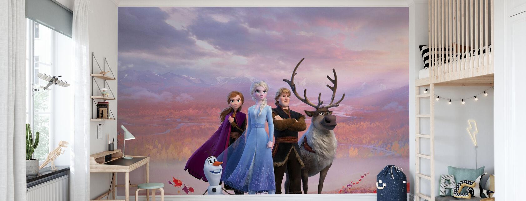 Frozen 2 - Seikkailu pohjoiseen - Tapetti - Lastenhuone