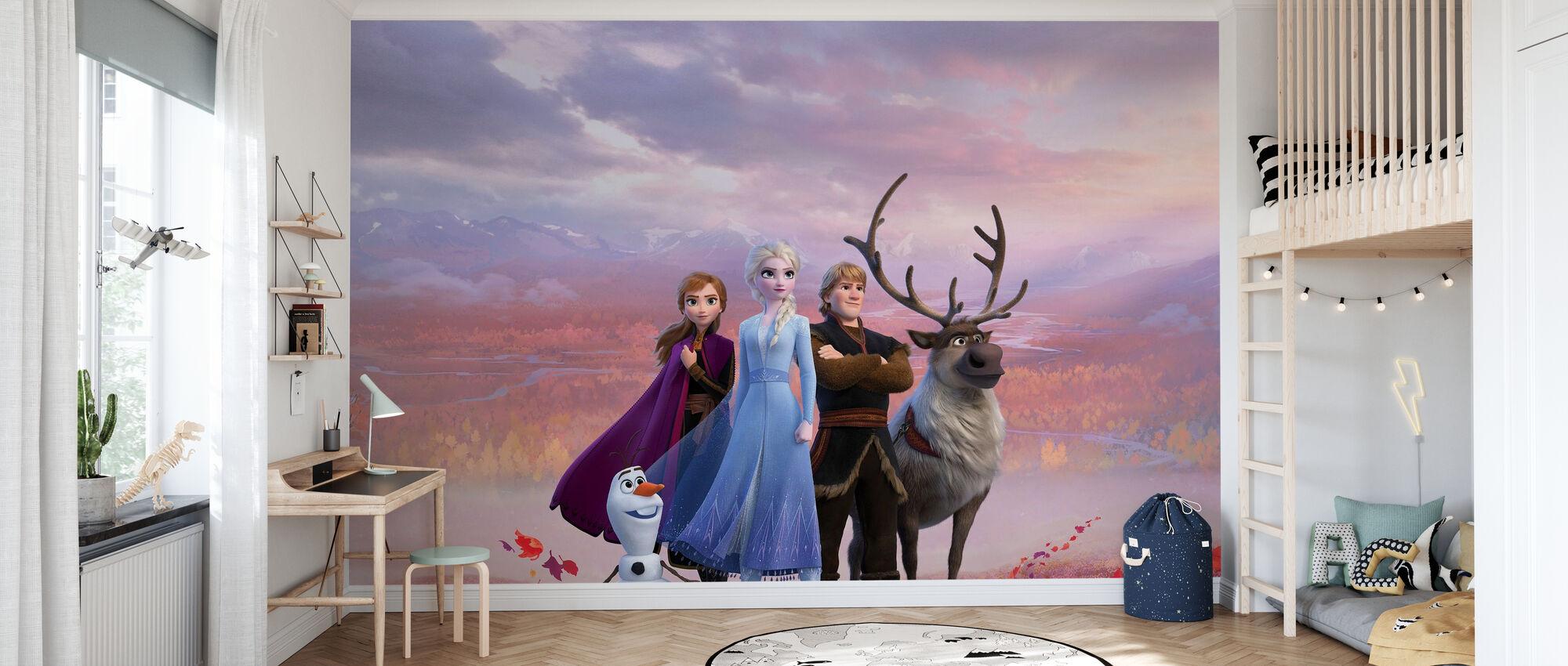 Frozen 2 - Äventyr i norr - Tapet - Barnrum