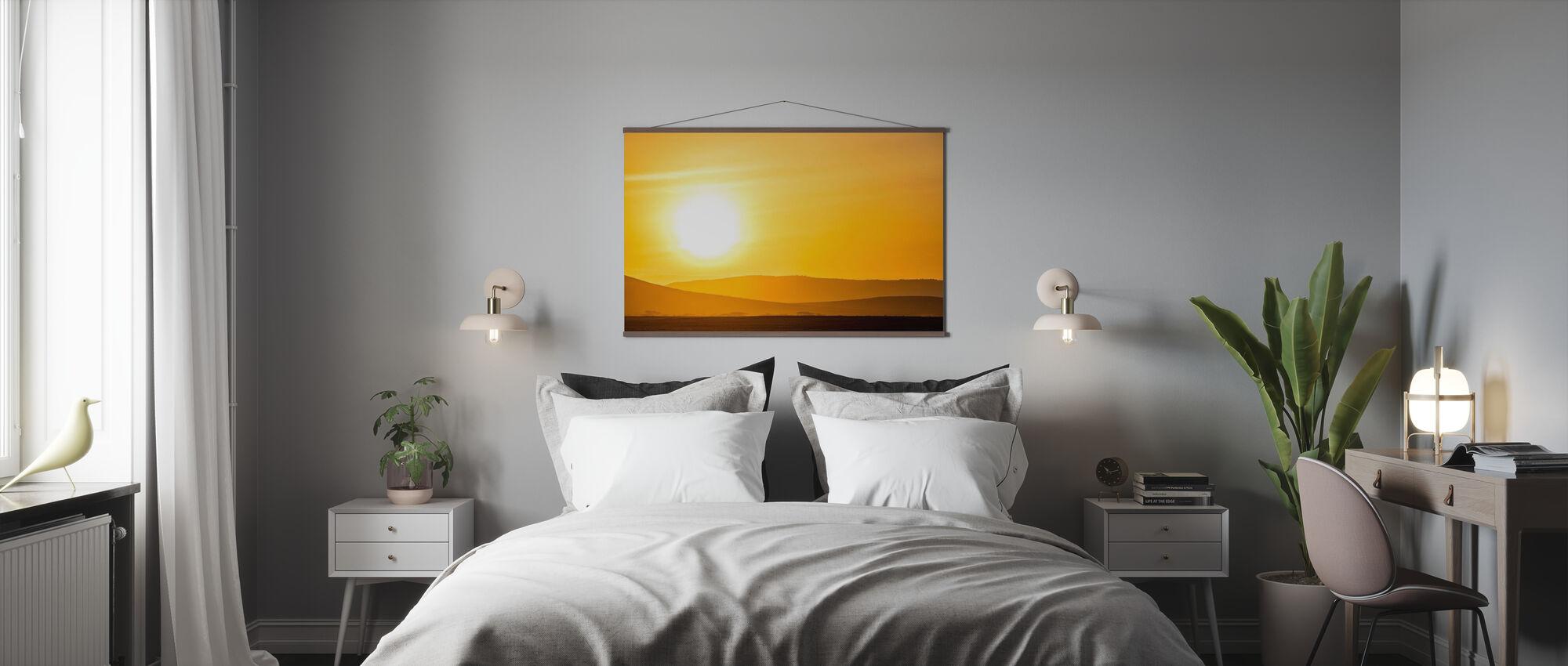 Glow - Poster - Bedroom