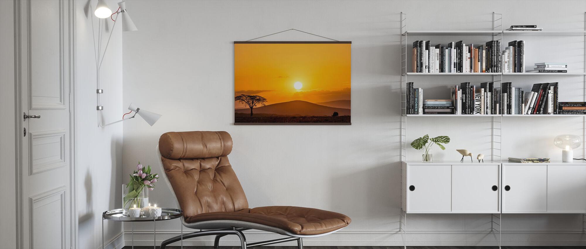 Savannah Sunset - Poster - Living Room