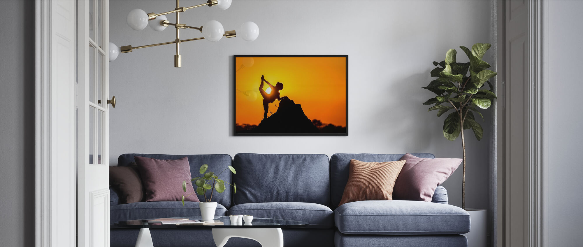 Savanne-danseres - Poster - Woonkamer