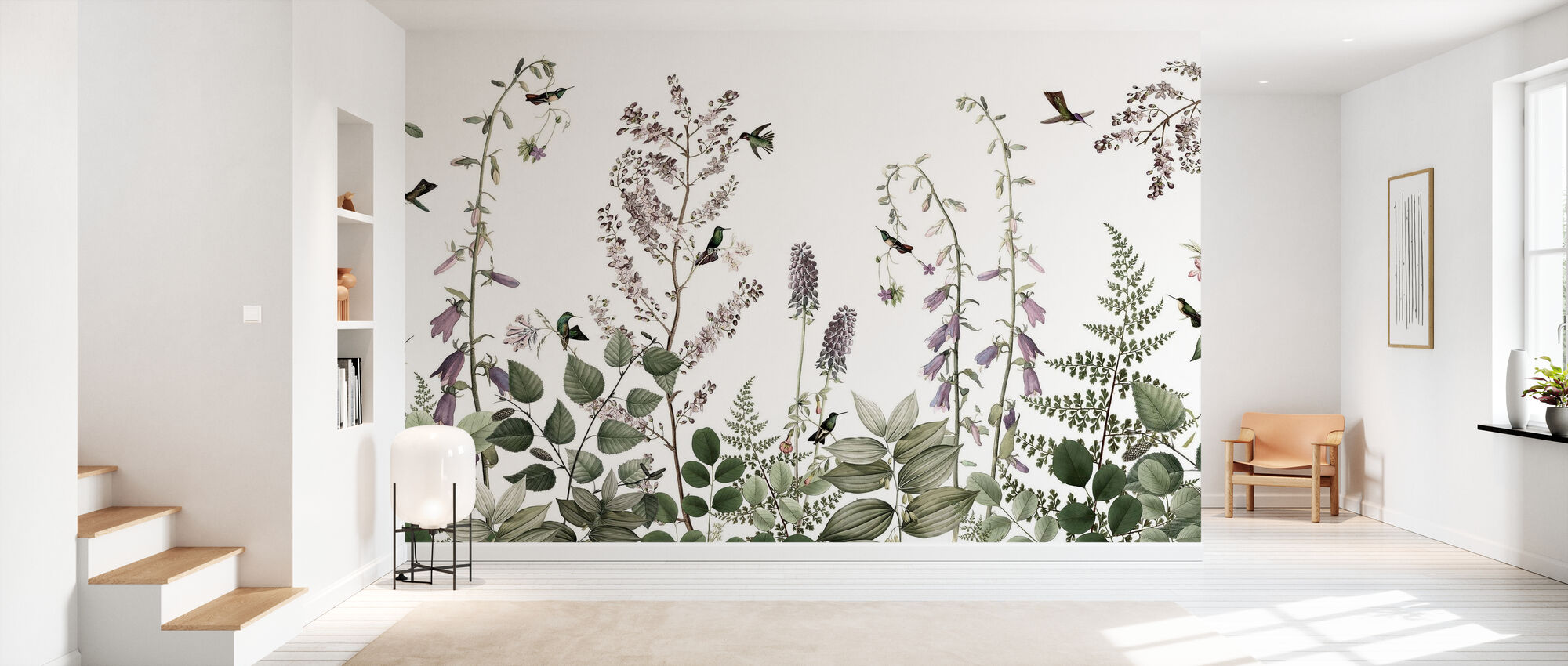 Hummingbird Hedge - Wallpaper - Hallway