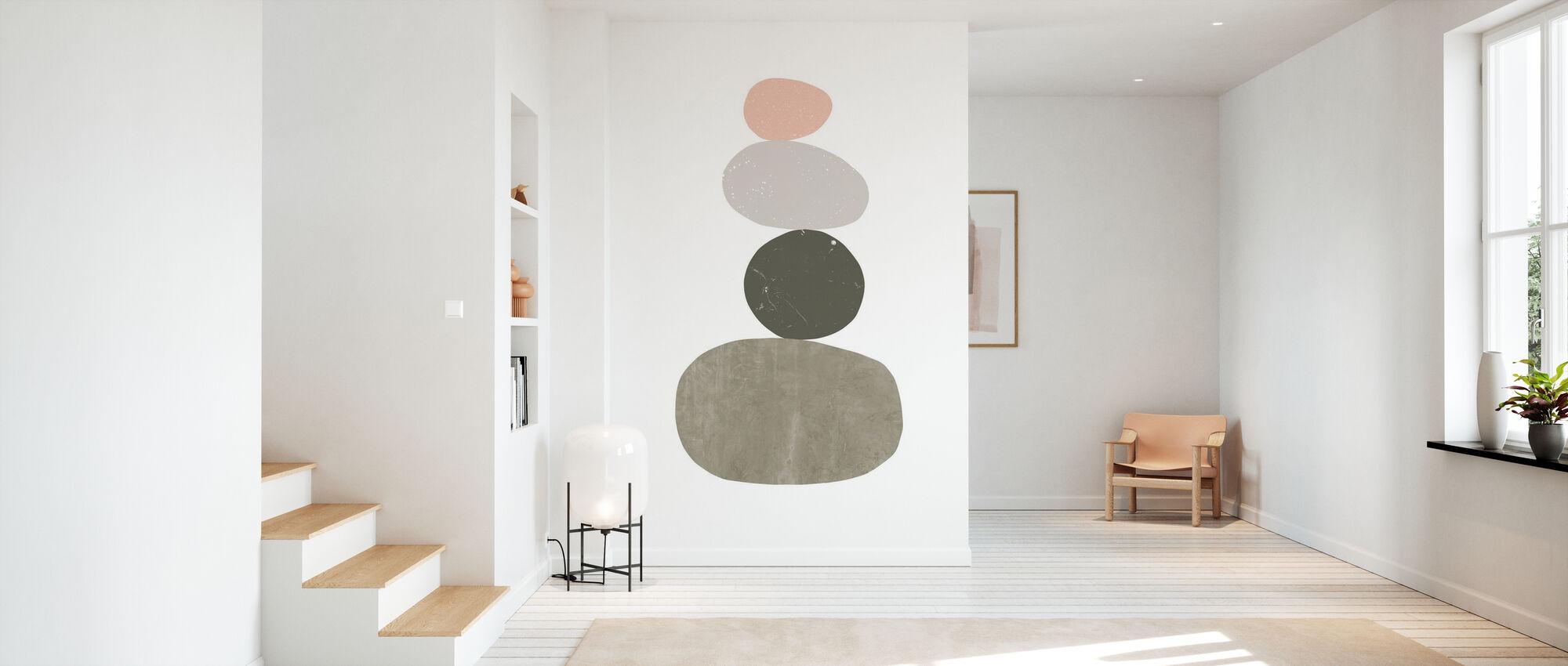 Pebbles I - Wallpaper - Hallway