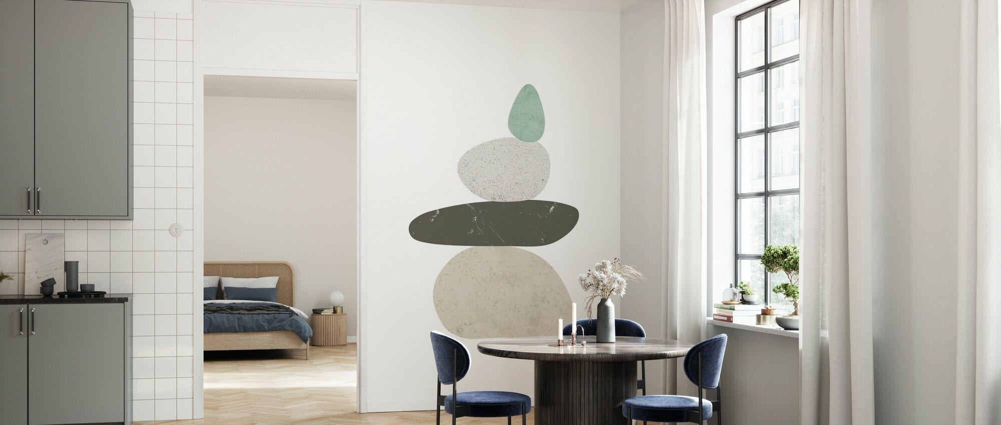 Pebbles III - Wallpaper - Kitchen