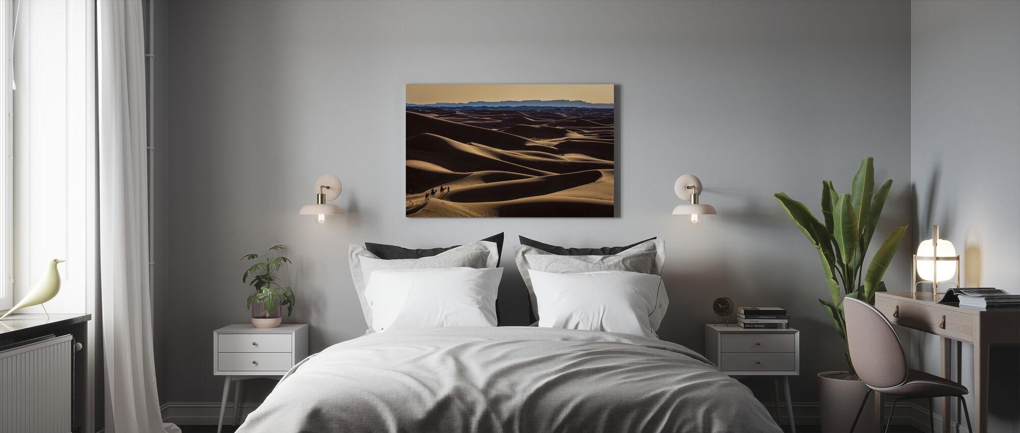 Caravan - Canvas print - Bedroom