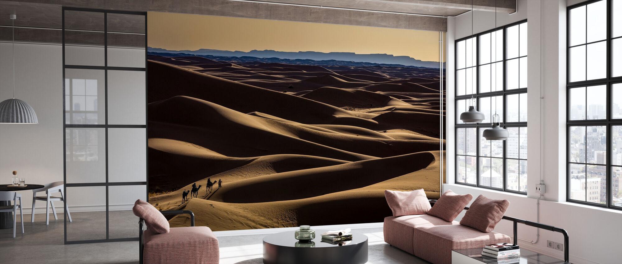 Caravan - Wallpaper - Office