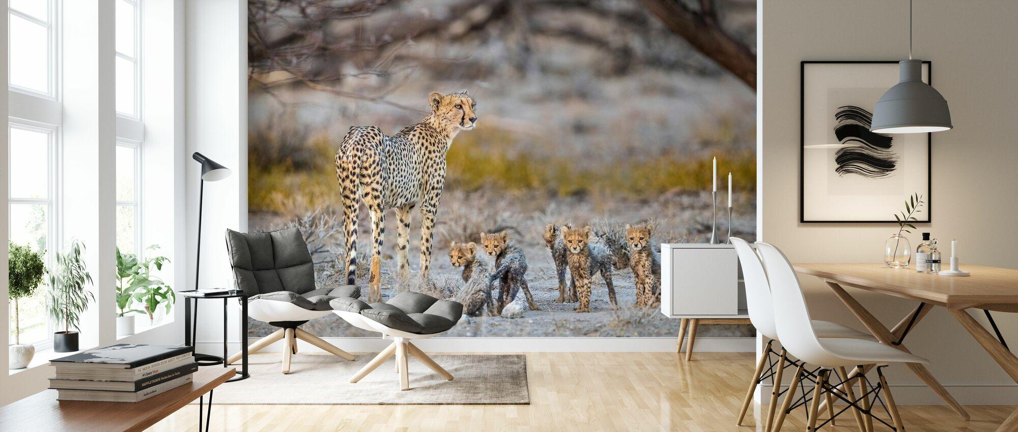 Motherhood - Wallpaper - Living Room