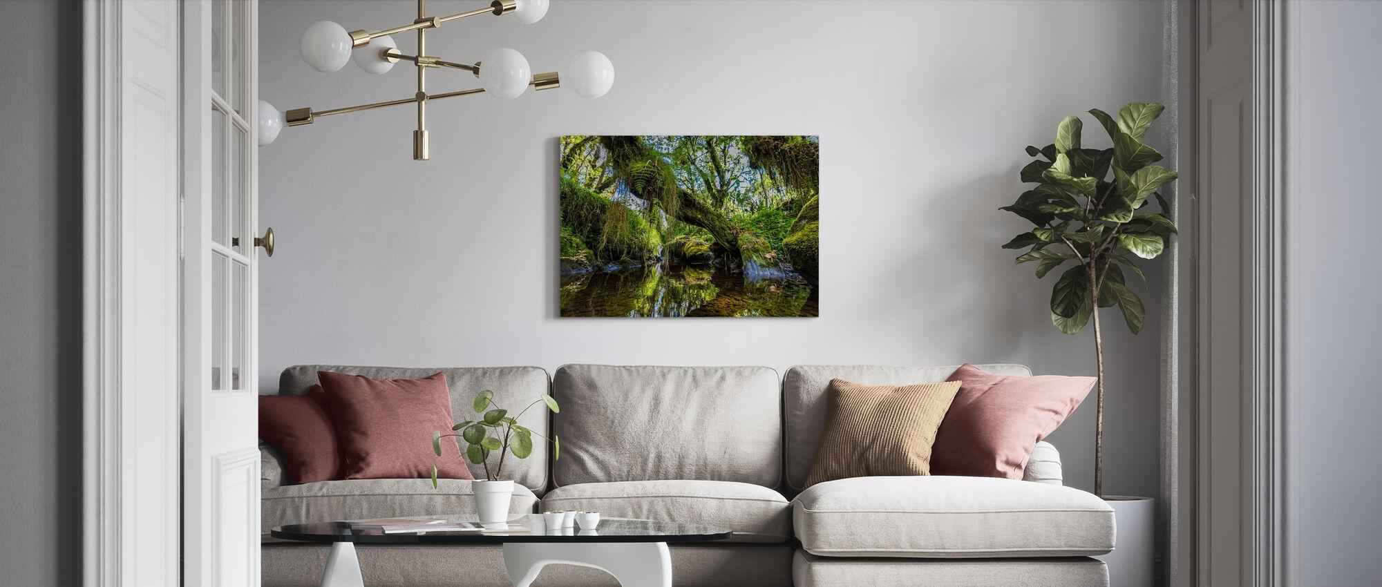 Wetland - Canvas print - Living Room