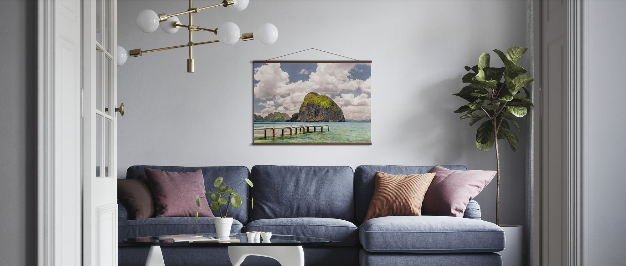 Beautiful Tropical Beach - Poster - Living Room