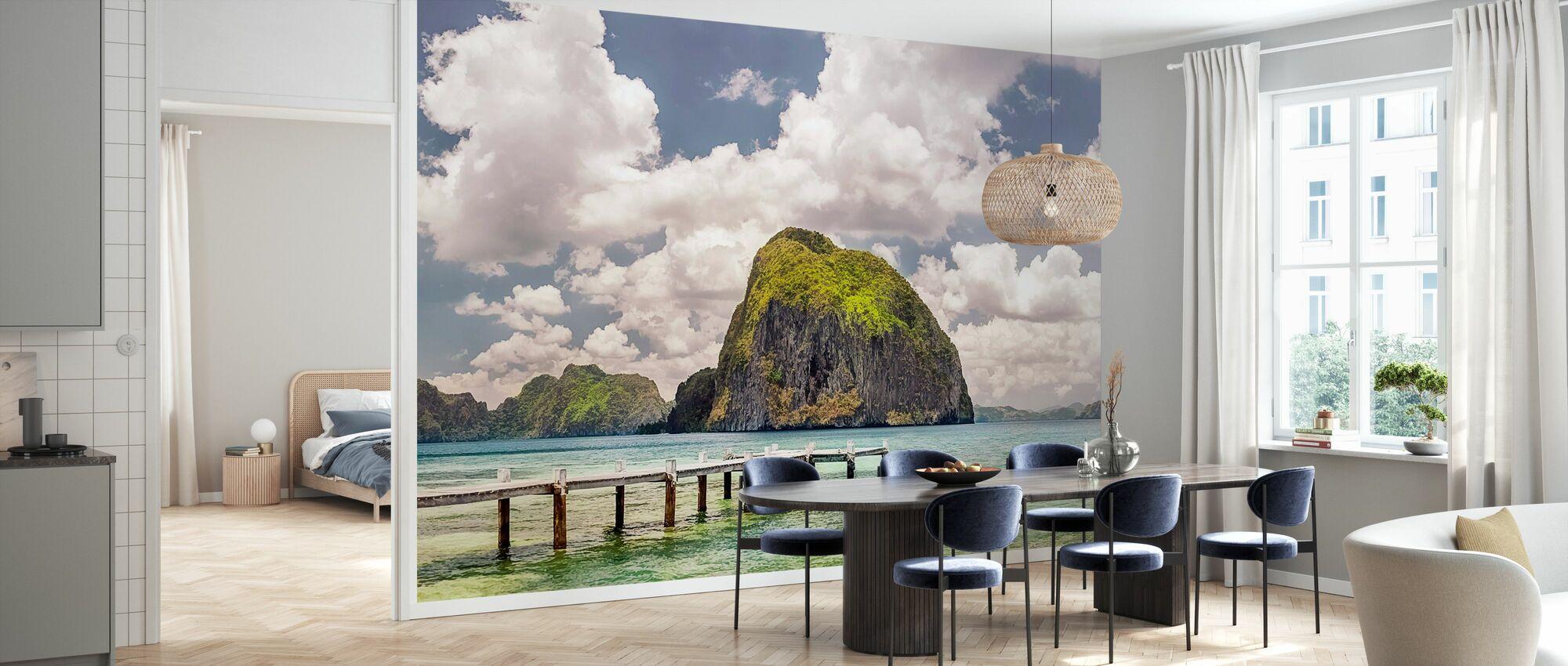 Beautiful Tropical Beach - Wallpaper - Kitchen