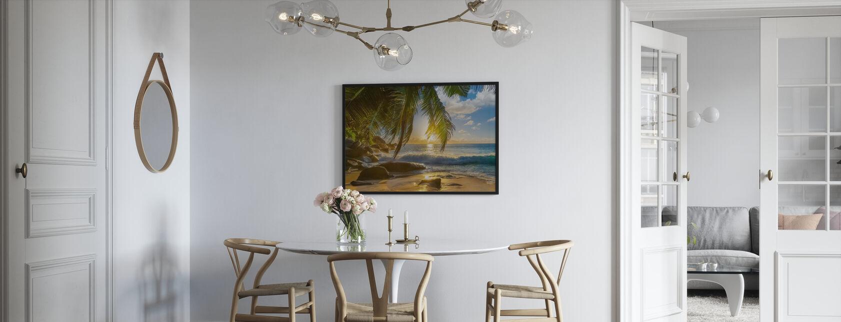 Beach Rocks Waves - Poster - Kitchen