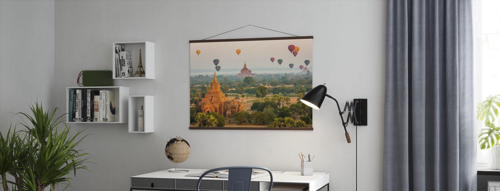 Bagan Baloons - Poster - Office