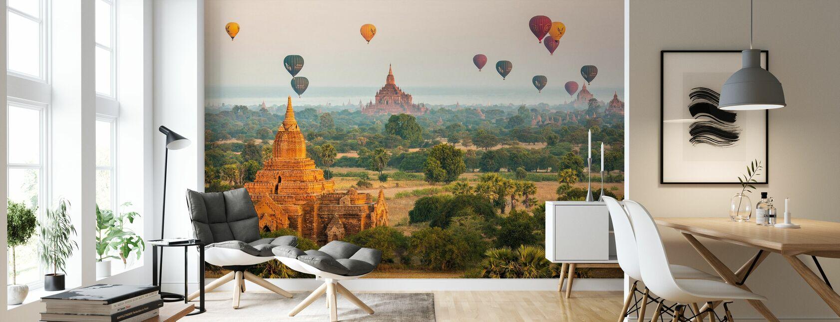 Bagan Baloons - Tapete - Wohnzimmer