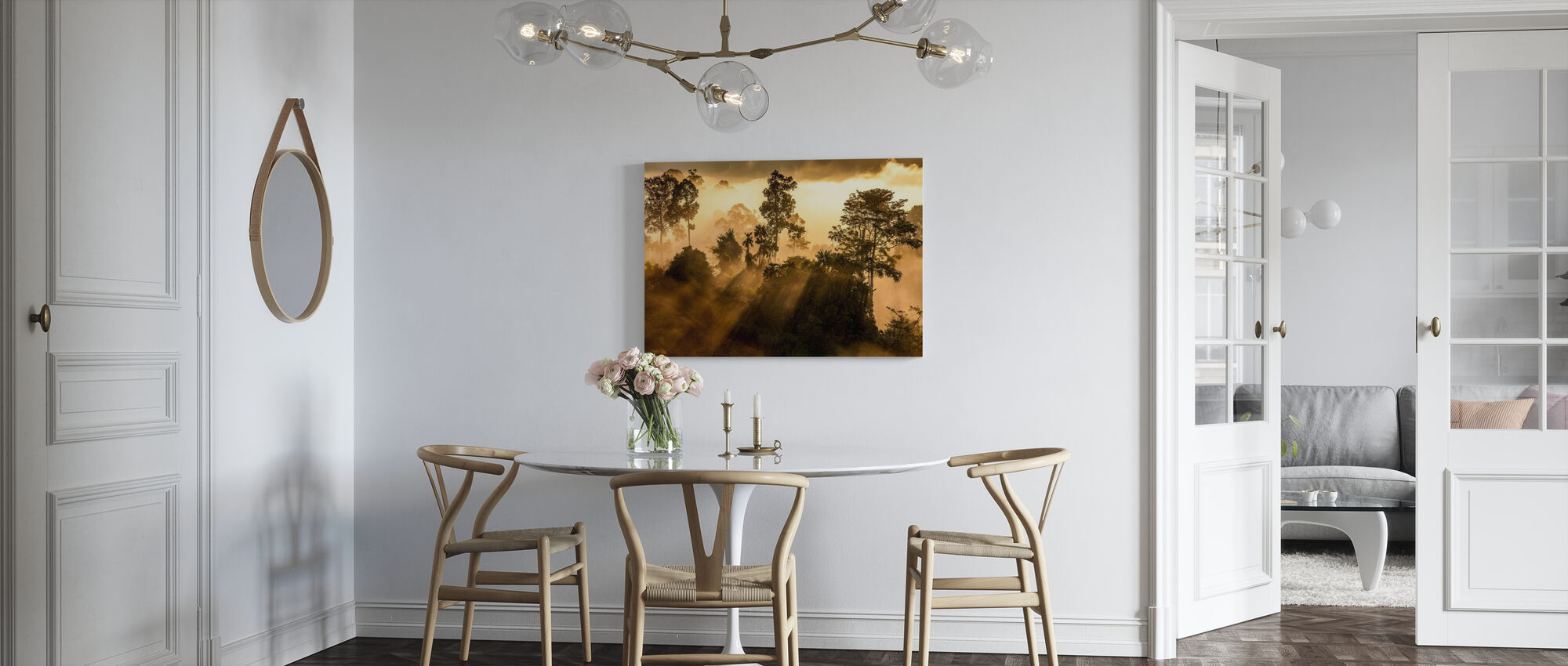 Rainforest Light - Canvas print - Kitchen