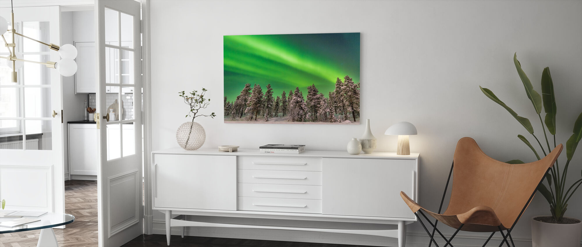 Enchanted Forest - Canvas print - Living Room