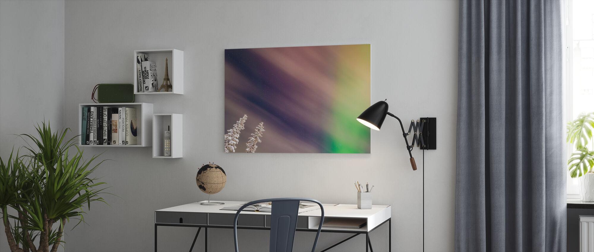 Aurora III - Canvas print - Office
