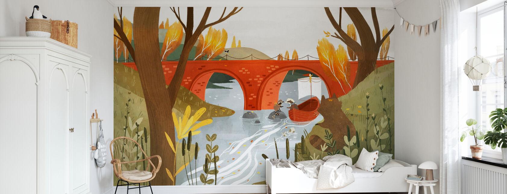 Badgers Journey - Wallpaper - Kids Room