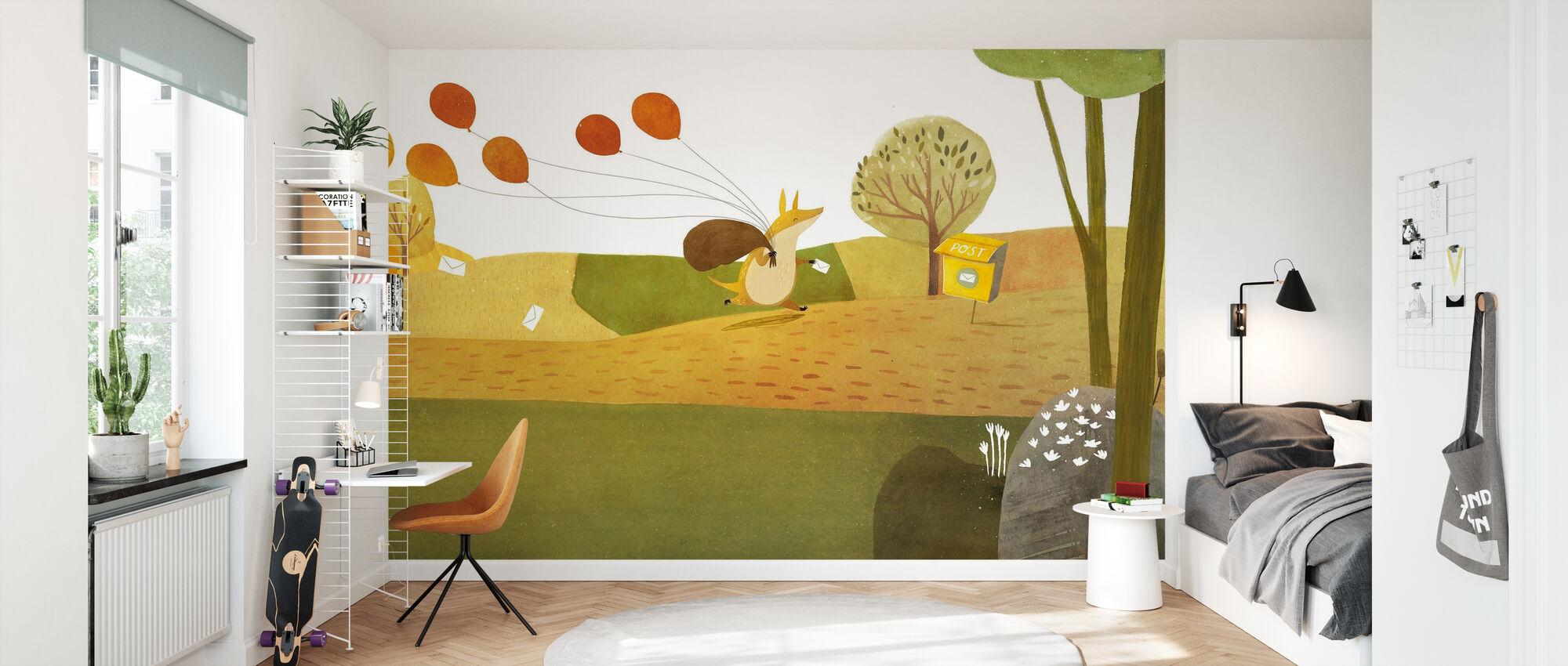 Pancake Party - Wallpaper - Kids Room