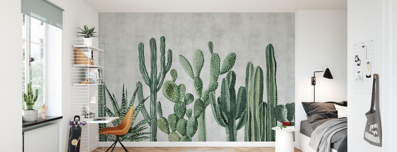 Atacama Kaktus - Tapete - Kinderzimmer