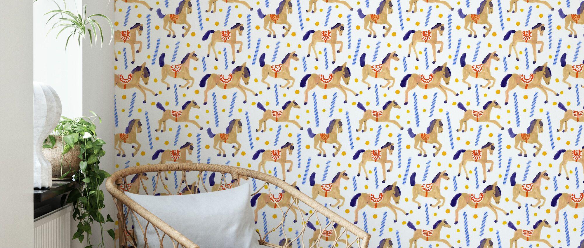 Carousel - Wallpaper - Living Room