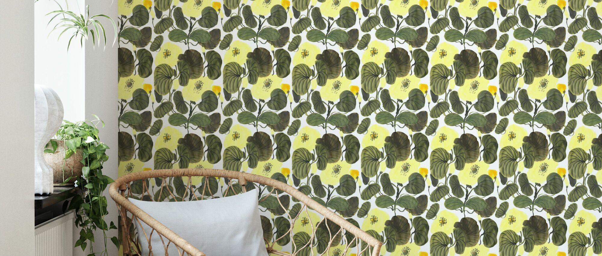 Green Spring - Wallpaper - Living Room