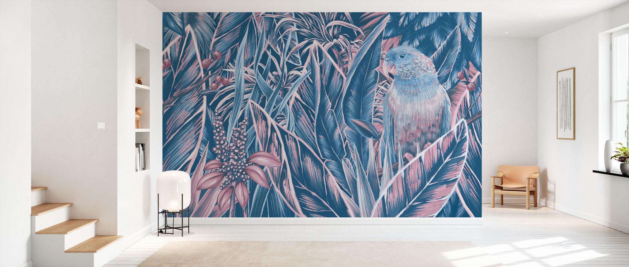 Big Parrot III - Wallpaper - Hallway