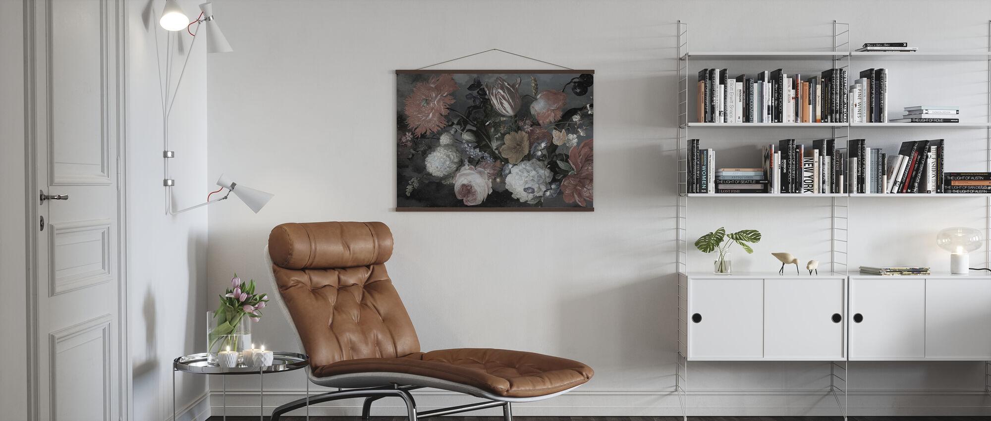 Boheemse bloemen - Poster - Woonkamer
