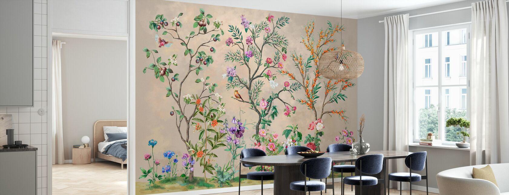 Gloire du jardin - Papier peint - Cuisine