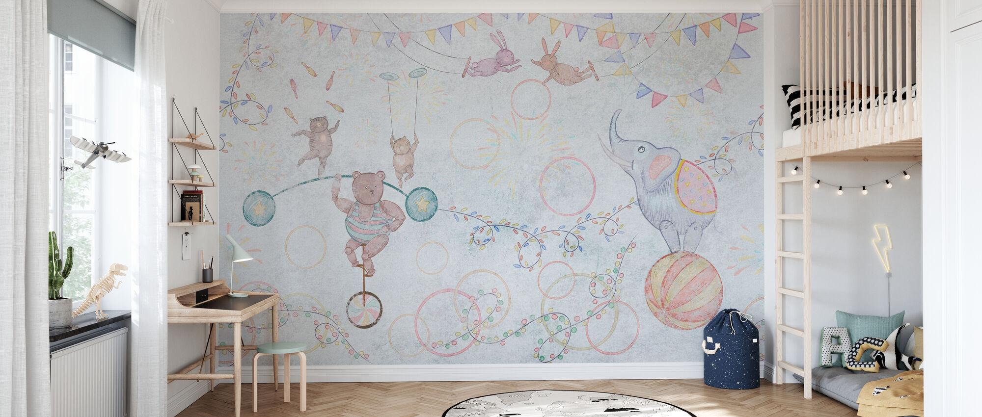 Tervetuloa sirkukseen - Tapetti - Lastenhuone