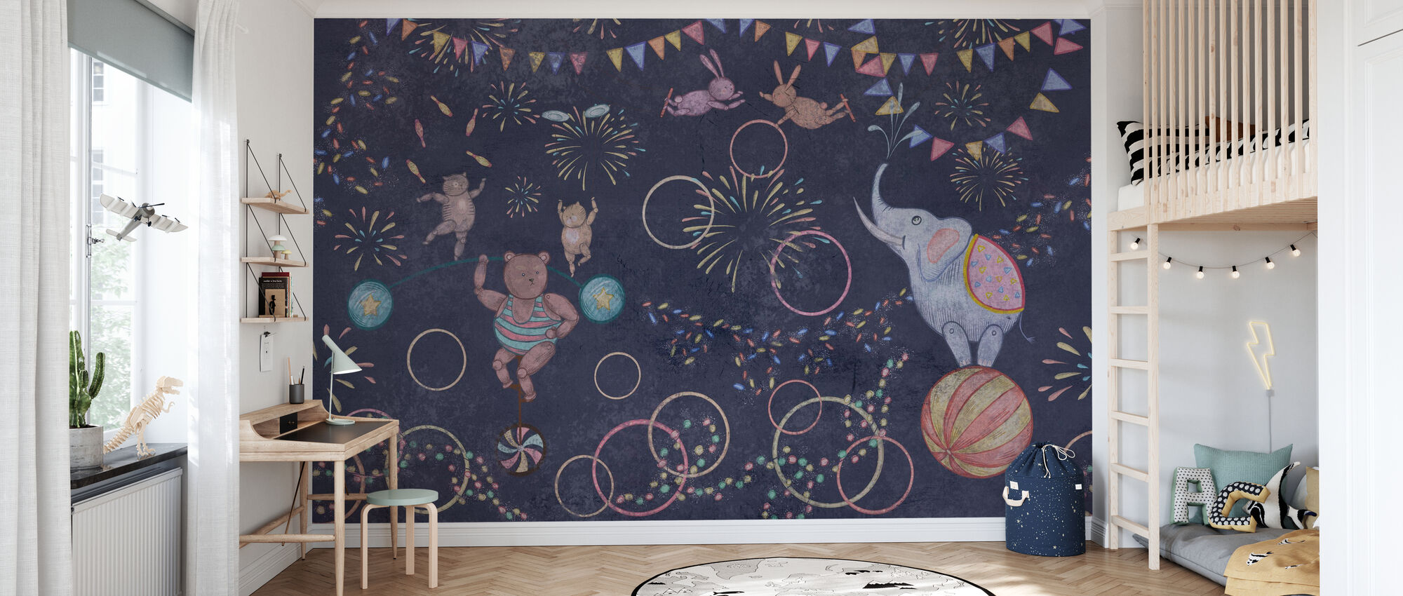 Tervetuloa Circus II:een - Tapetti - Lastenhuone