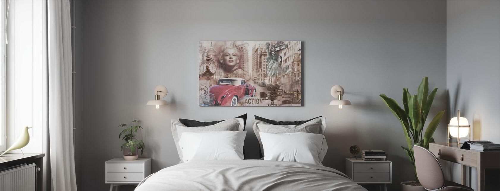 Wondrous Fifties - Canvas print - Bedroom