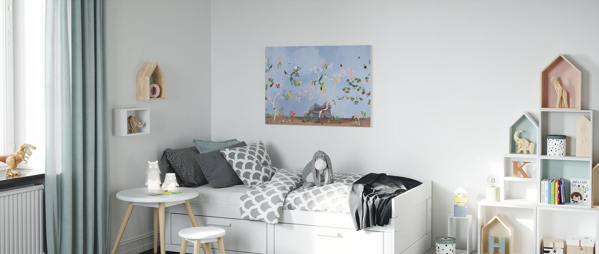 Birds Garden - Canvas print - Kids Room