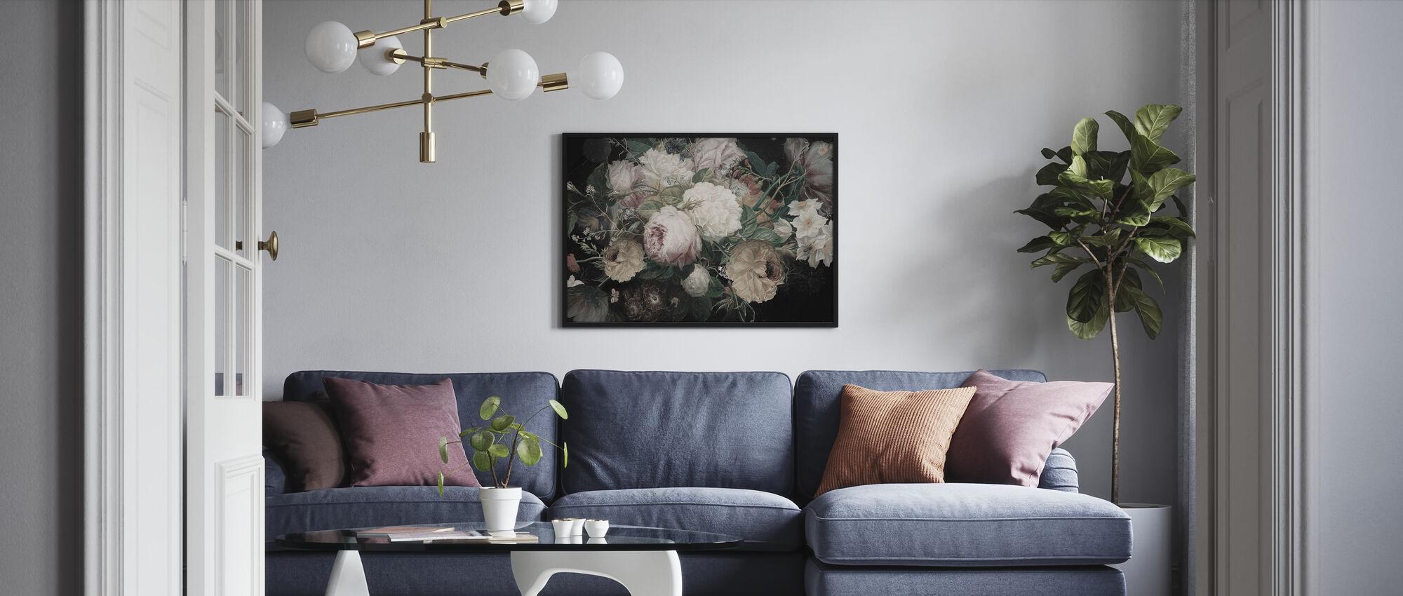 Bohemian Arrangement - Framed print - Living Room