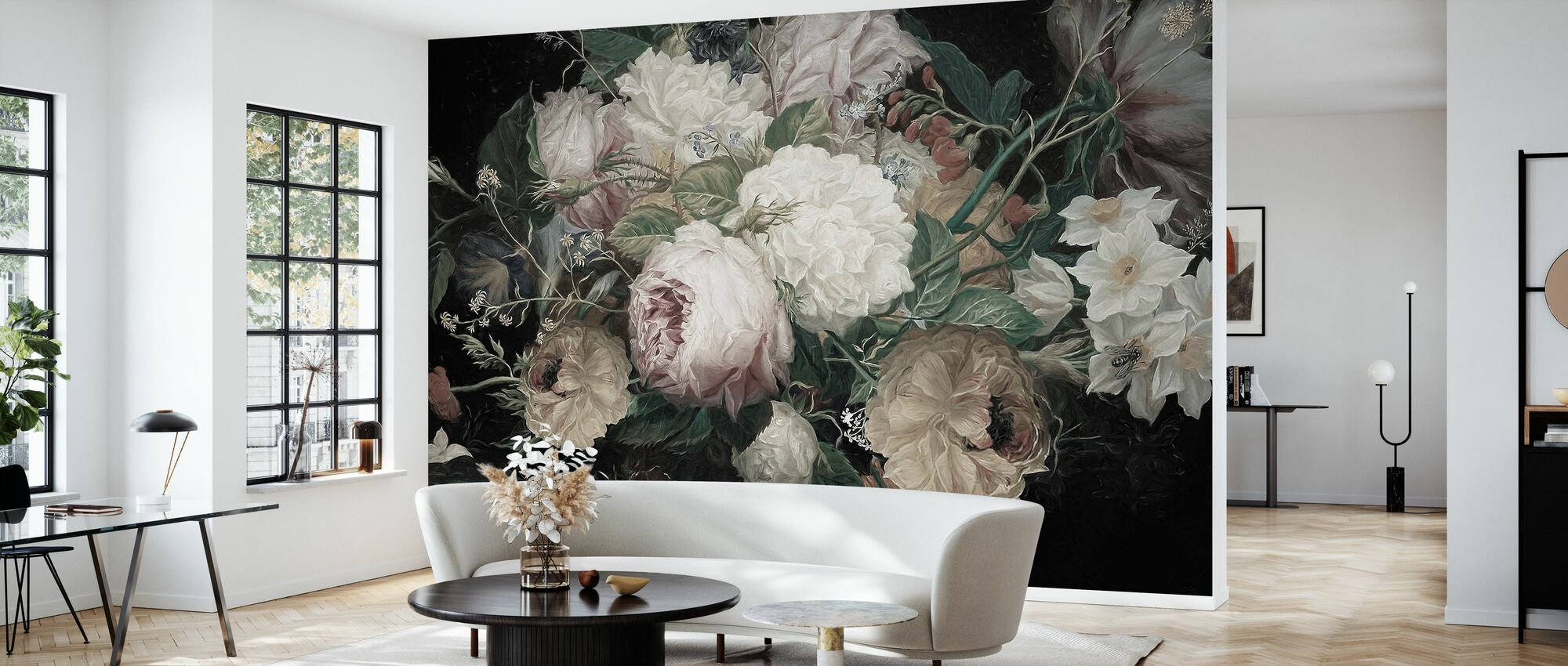 Bohemian Arrangement - Wallpaper - Living Room