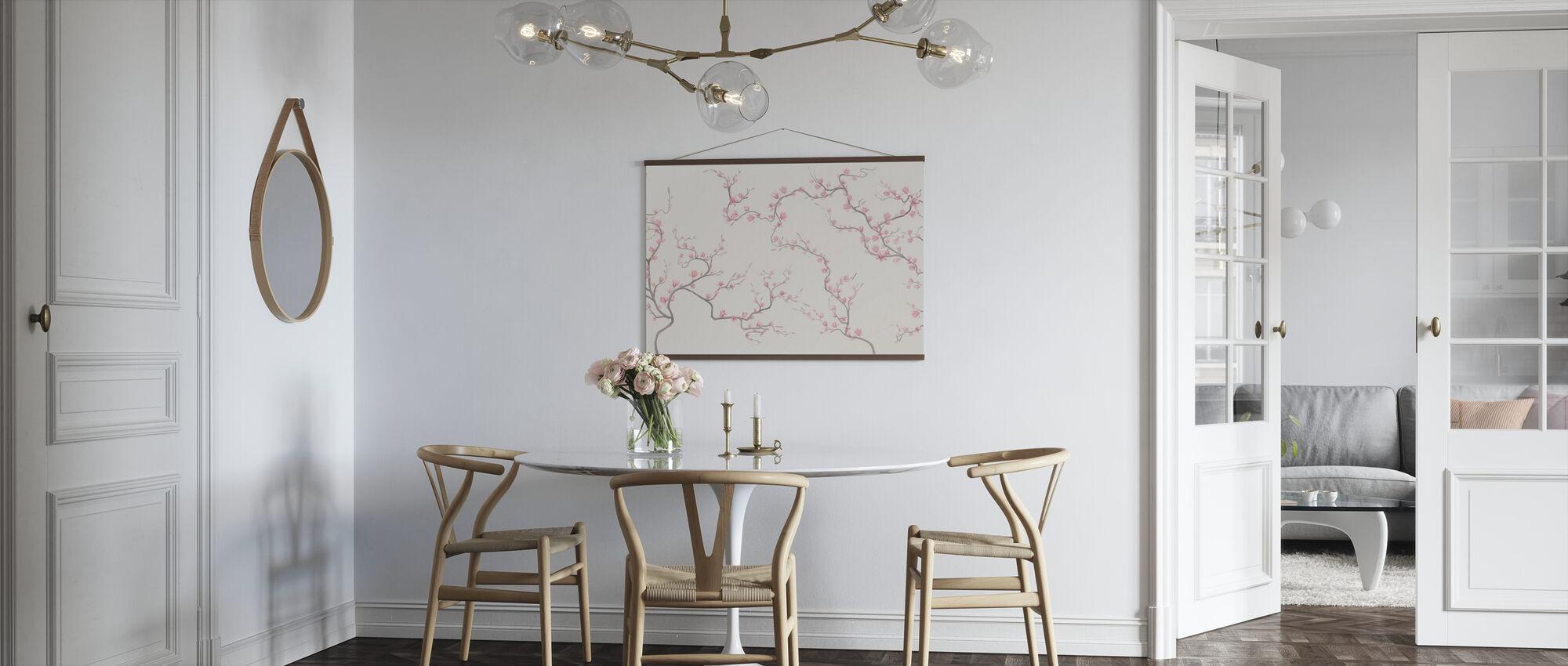 Flourishing Magnolia - Natur - Poster - Kitchen