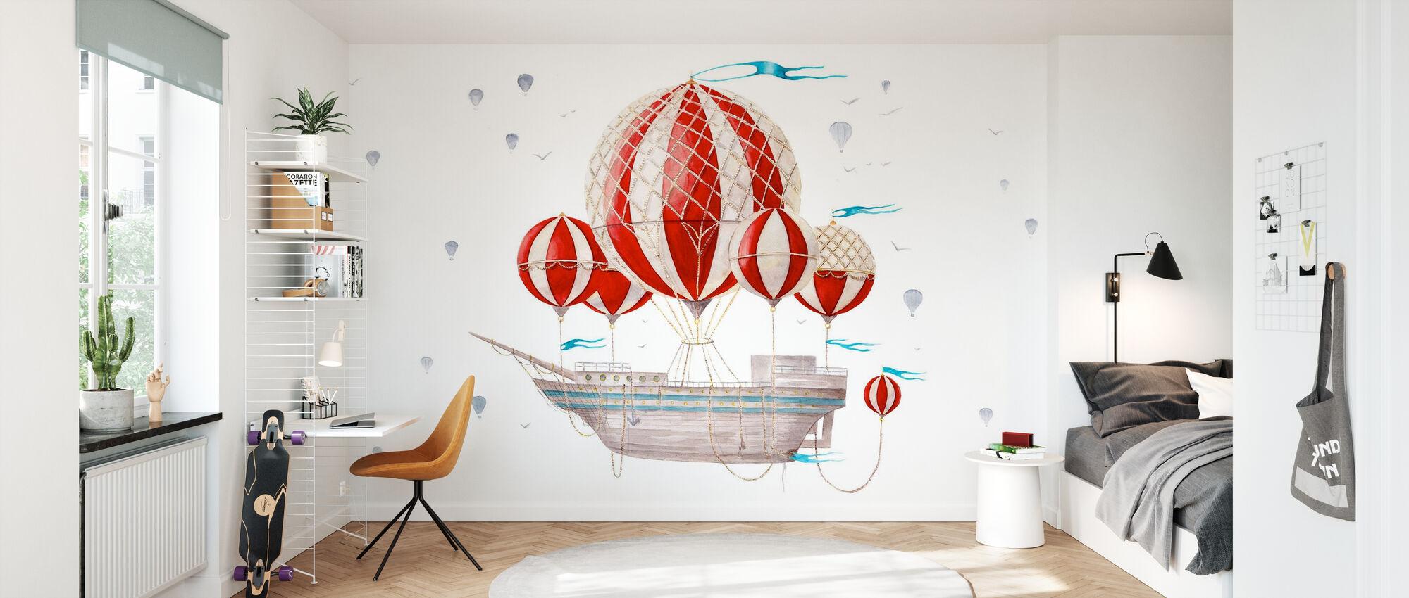 Ship Comes Loaded - Wallpaper - Kids Room
