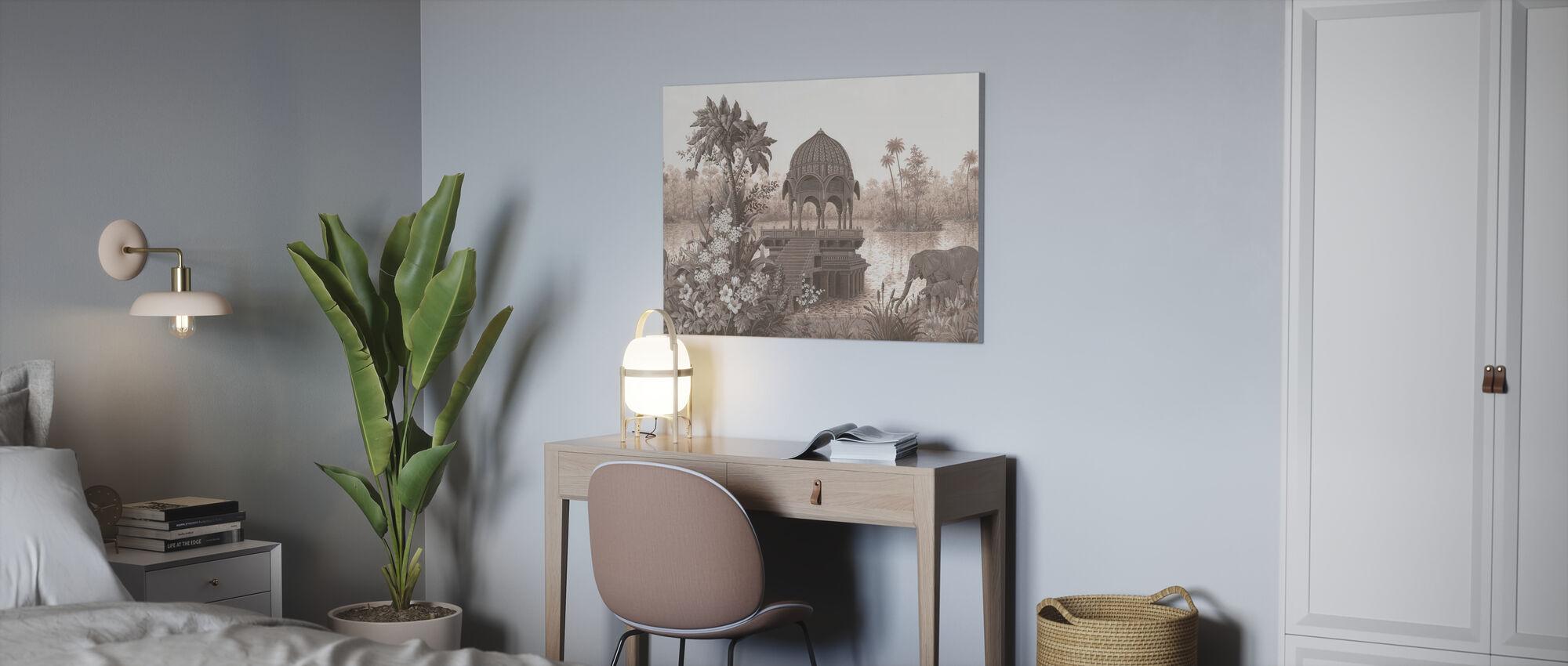 Tropical Habitat - Canvas print - Office