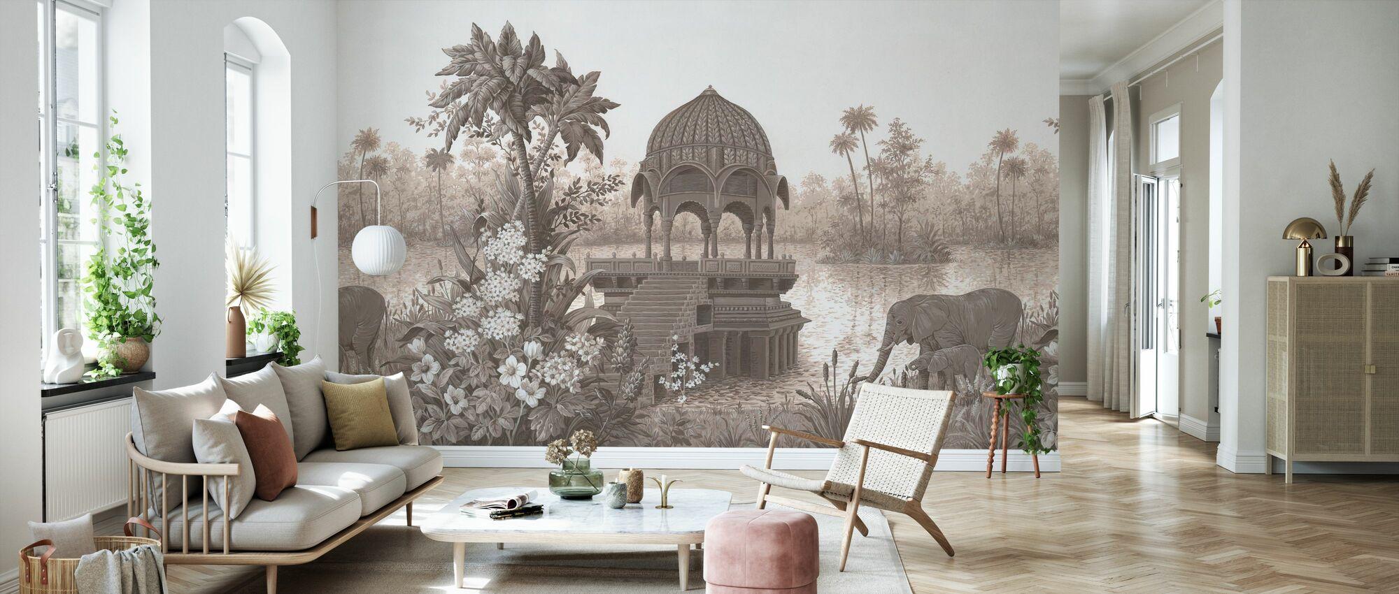 Tropical Habitat - Wallpaper - Living Room