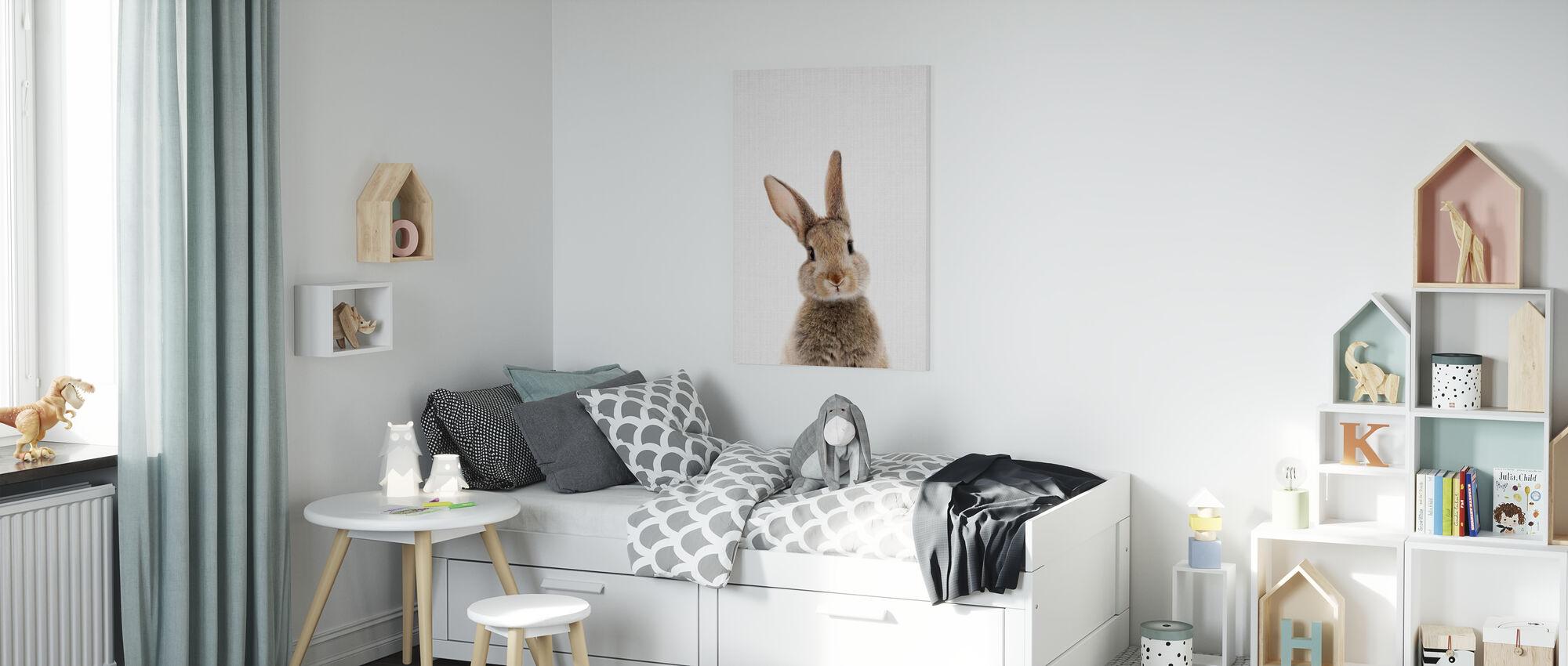 Bunny Rabbit - Canvas print - Kids Room