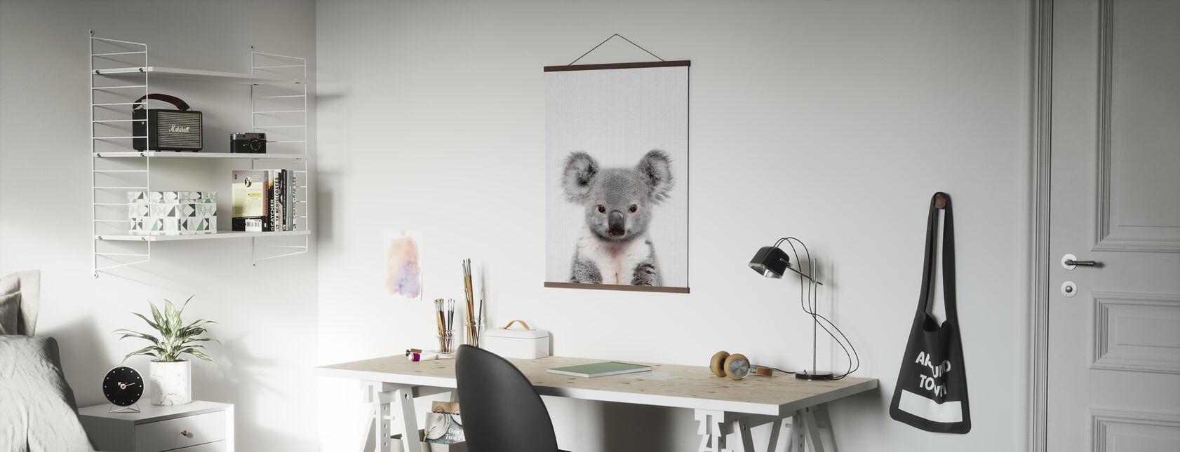 Baby Koala - Poster - Office