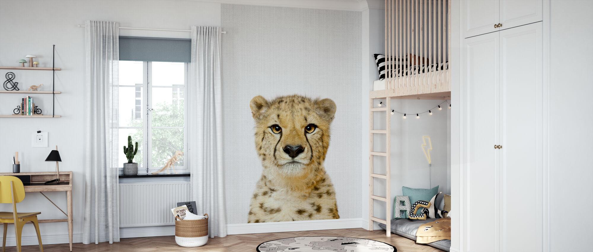 Cheetah - Wallpaper - Kids Room